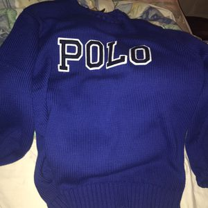 Brand New With Tags Authentic Ralph Lauren Polo Sweater Size M for Sale in Springfield, MA