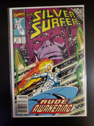 Marvel Comic Book The Silver Sufer Vol. 51 July for Sale in Pembroke Pines, FL