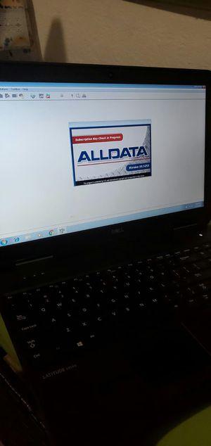 Hp laptop para mecanico con diagramas Alldata Mitchell for Sale in Los Angeles, CA