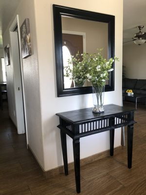 Table and mirror for Sale in Bakersfield, CA