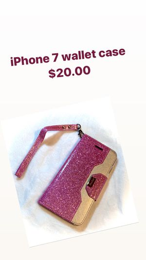 iPhone 7 wallet case for Sale in Goodman, MO