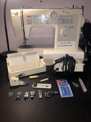 Euro-Pro Delux Denim Machine for Sale in North Las Vegas, NV
