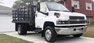 2008 Chevy C5500 Kodiak 12Ft Stake Body Flat Bed Duramax Diesel Work Truck for Sale in Lanham, MD