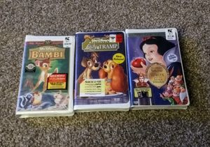 BRAND NEW SEALED Disney VHS Tape Lot for Sale in Clementon, NJ