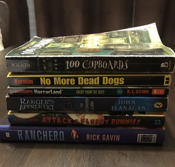 Great Books for $1.50 each / Batch $5