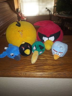 Angry birds stuffed animals for Sale in Elk Grove, CA
