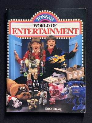 Tonka's World of Entertainment 1986 Toy Catalogue | GoBots, Rock Lords, Pound Puppies | Vintage for Sale in Chicago, IL