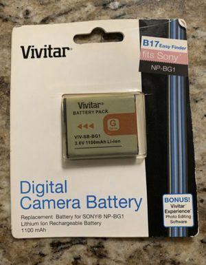New! Vivitar digital camera battery for Sale in Arlington, TX