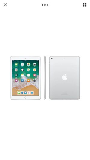 Apple - iPad 6th gen with Wi-Fi - 32GB - Silver Model:MR7G2LL/A SKU:5201500 for Sale in El Monte, CA