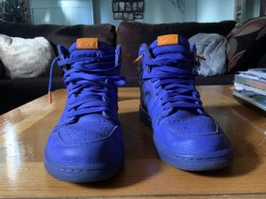 Air Jordan retro 1 Gatorade Violet rush size 10 for Sale in Saline, MI