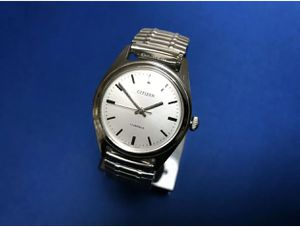 Vintage Citizen 63-8579 Hand Winding cal. 2520 Silver Dial MEN'S Watch for Sale in Pueblo West, CO