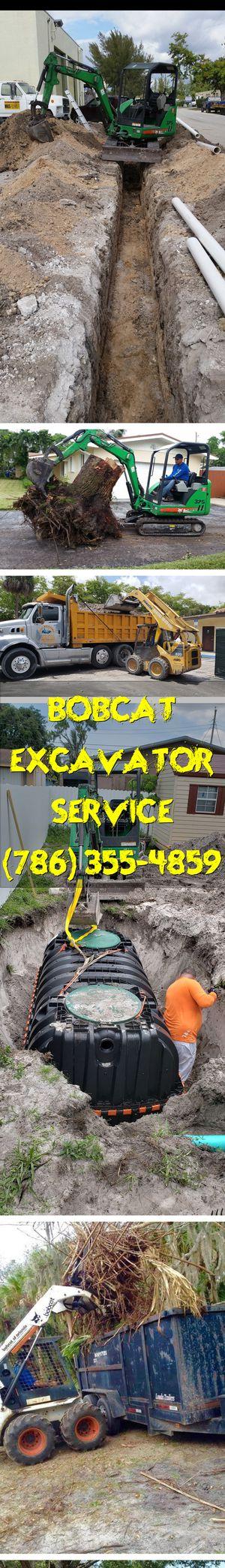 excavator bobcat servis excavator and bobcat service for Sale in Miami, FL