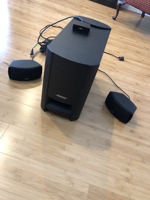 Bose Cinemate Series II Home Theater System + Subwoofer for Sale in Seattle, WA