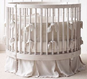 Baby crib. Round Spacious by Restoration Hardware for Sale in Santa Monica, CA