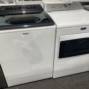 New Top Load Washer & Dryer Set with 1 Year Warranty for Sale in Baltimore, MD