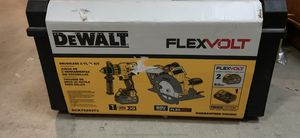 Dewalt drill/ saw set with tough case for Sale in Lakewood, CA