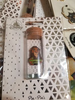 Disney Store Scar Pin - I'm Surrounded By Idiots The Lion King NEW Fast Shipping for Sale in Houston, TX