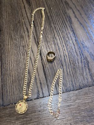 Gold plated jewelry set for Sale in Simpsonville, SC