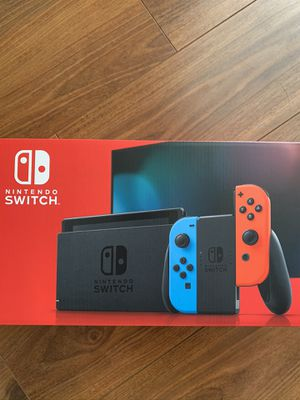 Nintendo Switch V2 Console Red Blue Joycons for Sale in Diamond Bar, CA