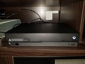 Xbox One X 1tb - Like New for Sale in Eau Claire, WI