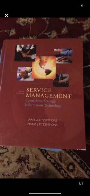 Service Management Operations, Strategy, Information Technology for Sale in Queens, NY