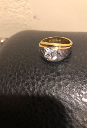 14k gold plated diamond ring for Sale in Chicago, IL