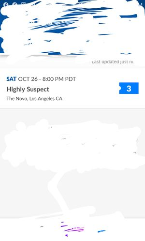 Highly suspect tickets for Sale in Wildomar, CA