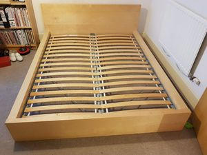 Brown Full size Bed Frame With Nightstands for Sale in Salem, OR