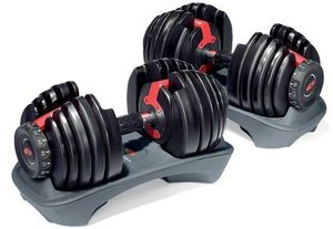 Adjustable Dumbbell + Bench + Resistance bands for Sale in Los Angeles, CA