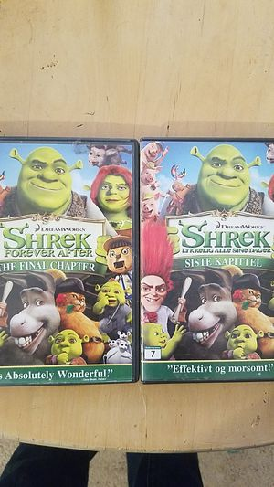 DREAMWORKS HOME ENTERTAINMENT DREAMWORKS SHREK FOREVER AFTER THE FINAL CHAPTER DVD VIDEO for Sale in Lake Los Angeles, CA