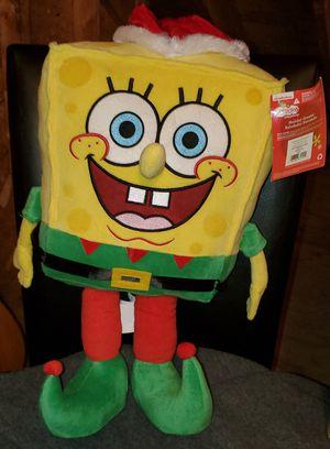 Christmas Plush Spongebob for Sale in Waterboro, ME