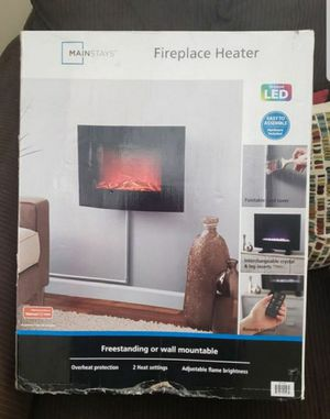 FIREPLACE HEATER LED (NEW) for Sale in South Gate, CA