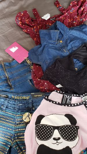 New girl Clothes for kids Size 10 for Sale in Hollywood, FL
