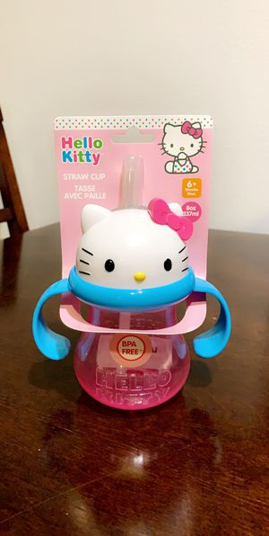 Hello kitty sippy cup for Sale in Brea, CA