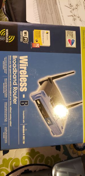 Linkys Wifi Router for Sale in Winter Haven, FL