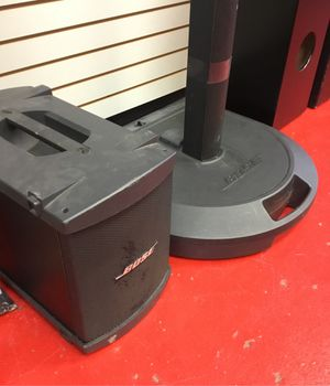 Bose PA system with subwoofer for Sale in Mount Juliet, TN