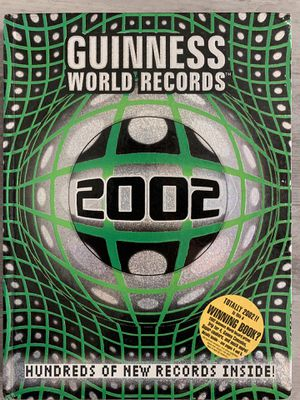 Guinness World Records 2002 for Sale in Selma, CA