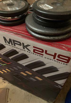 Akai MPK249 MIDI KEYBOARD for Sale in Orange, CA