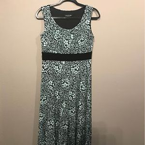 Perceptions blue and black Womens petite Size 10p dress for Sale in Oregon City, OR