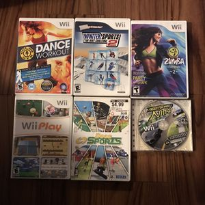 Wii Games (6) for Sale in Salinas, CA