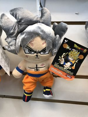 "Ultra Goku instinct plush doll 10"" tall for Sale in Dallas, TX"
