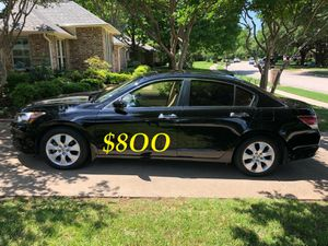 🍁🔥$8OO URGENT I sell my family car 2OO9 Honda Accord Sedan V6 EX-L 𝓹𝓸𝔀𝓮𝓻 𝓢𝓽𝓪𝓻𝓽 Runs and drives very smooth !🍁🔥 for Sale in Durham, NC
