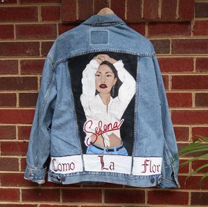 Hand Painted Selena Quintanilla Jacket for Sale in Silver Spring, MD