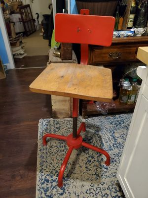 Vintage ADJUSTO drafting stool/chair for Sale in Columbus, OH