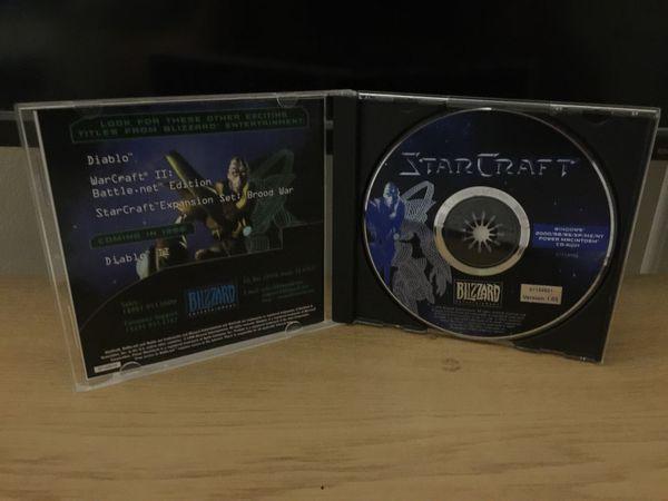 StarCraft Blizzard pc game
