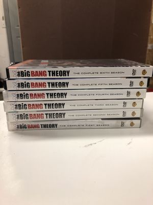 The Big Bang Theory DVD Seasons 1-6 for Sale in Vancouver, WA