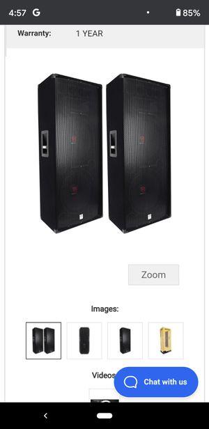 "Rockville Dual 15"" Passive DJ/PA Speakers Totalling 6000 Watts! for Sale in Montgomery, AL"