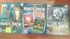 Nancy Drew PC games for Sale in Mooresville, NC