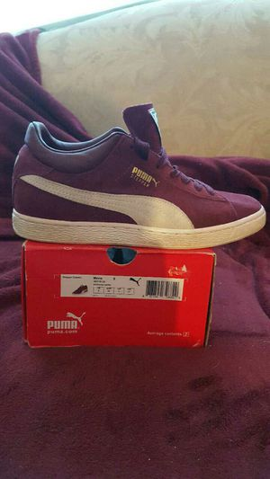 Puma Stepper Classic zinfandel and white for Sale in Odenton, MD