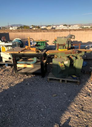 TOOLS - Shaper, Mortiser, Table Saw, Chisel. Must go! for Sale in Las Vegas, NV